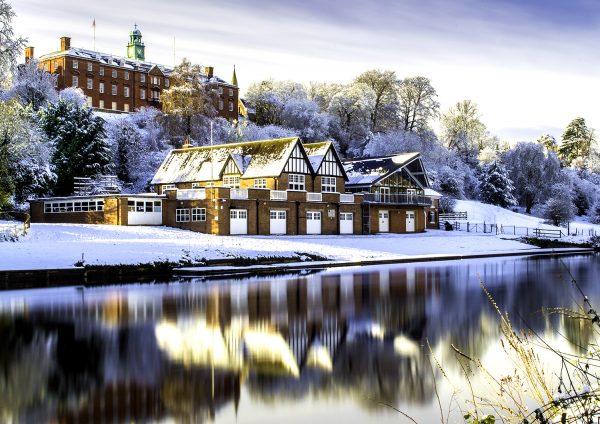 Shrewsbury school winter photo by David Jones