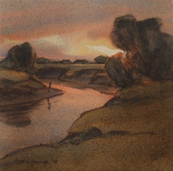 Twilight Bivouac by Robin Holder