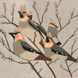 Emma Kirkman Lino Print