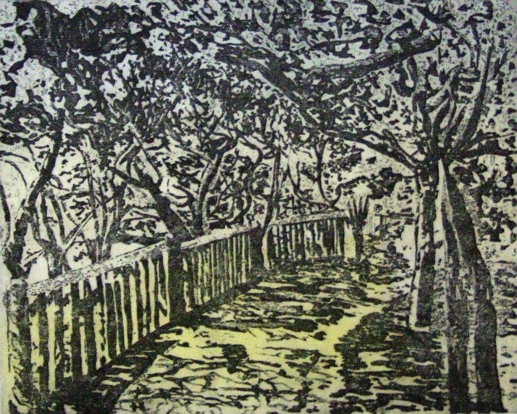 'Coastal path' by Linda Nevill