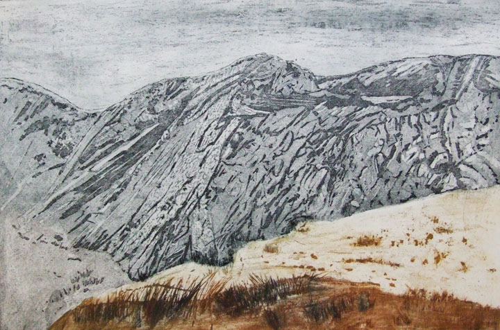 Linda Nevill 'Escarpment'