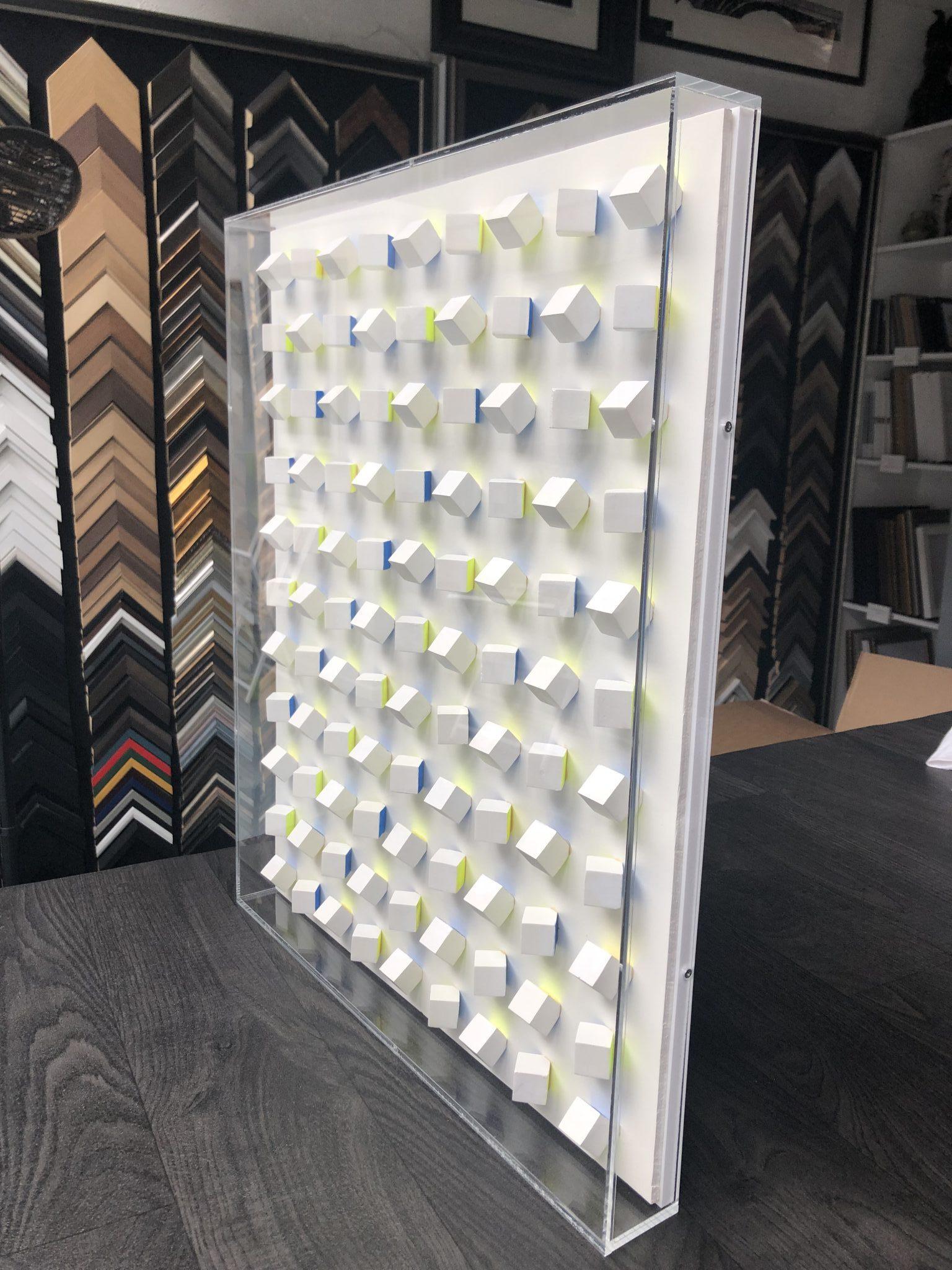 Acrylic Wall Display Case for Three 1:2