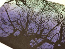 Etching printed on Ironbridge Etching Press
