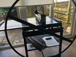 Printing etching press