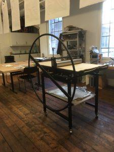 Customer etching printing press