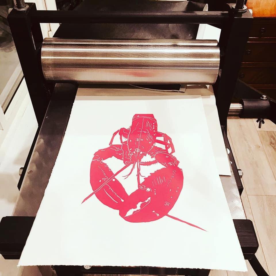 Lino press