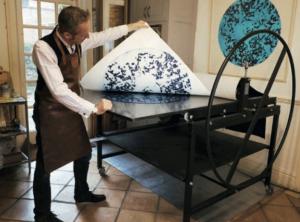 large etching press