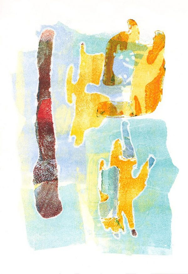 Mono Print by Viv Spencer