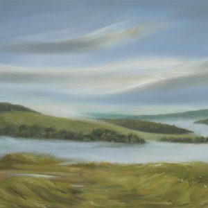 Oil on Board by Sally Ann Simons