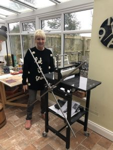 Etching press review from customer in Kenton