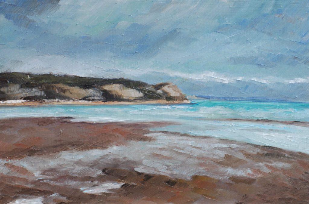 Oil painting by Hannah Broadhead