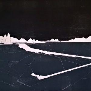 Monoprint by Michael Crompton