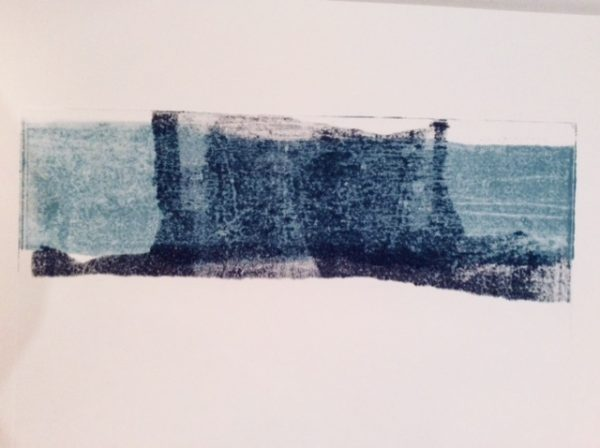 Monoprint by Michael Crompton