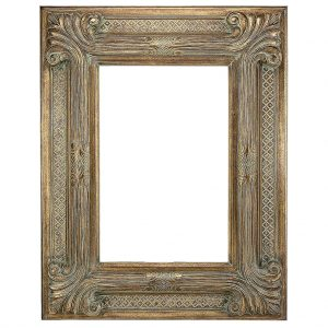 Gold-9-Inch-Gold-Ornate-Decorative-Frame