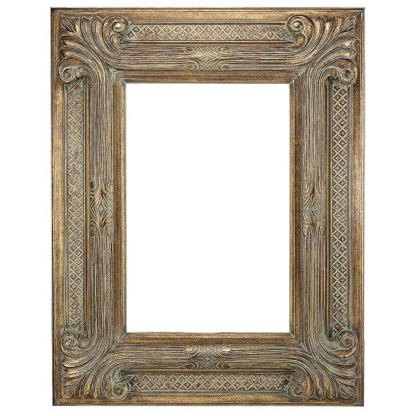 Gold-9-Inch-Gold-Ornate-Decorative-Frame