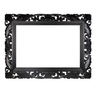 black-carved-swept-frame