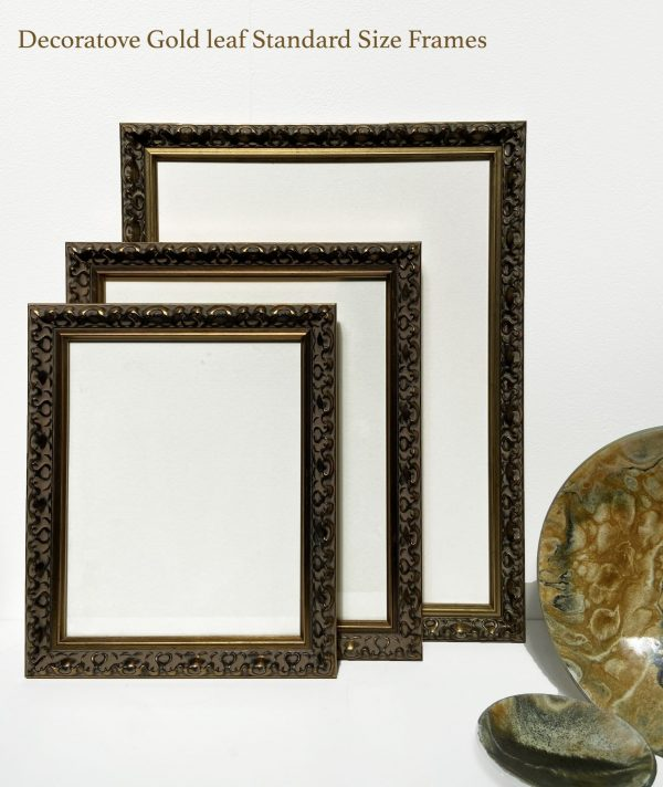 Ready Made Gold Picture Frames in standard sizes