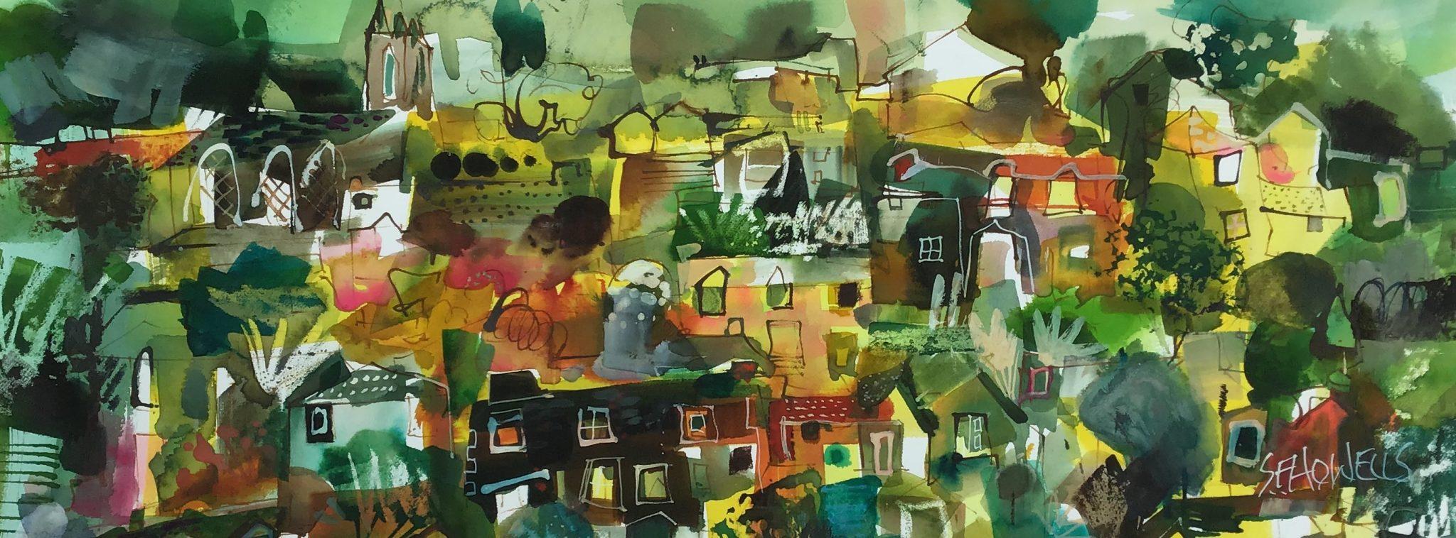 Sue Howells Ironbridge Gorgeous Painting