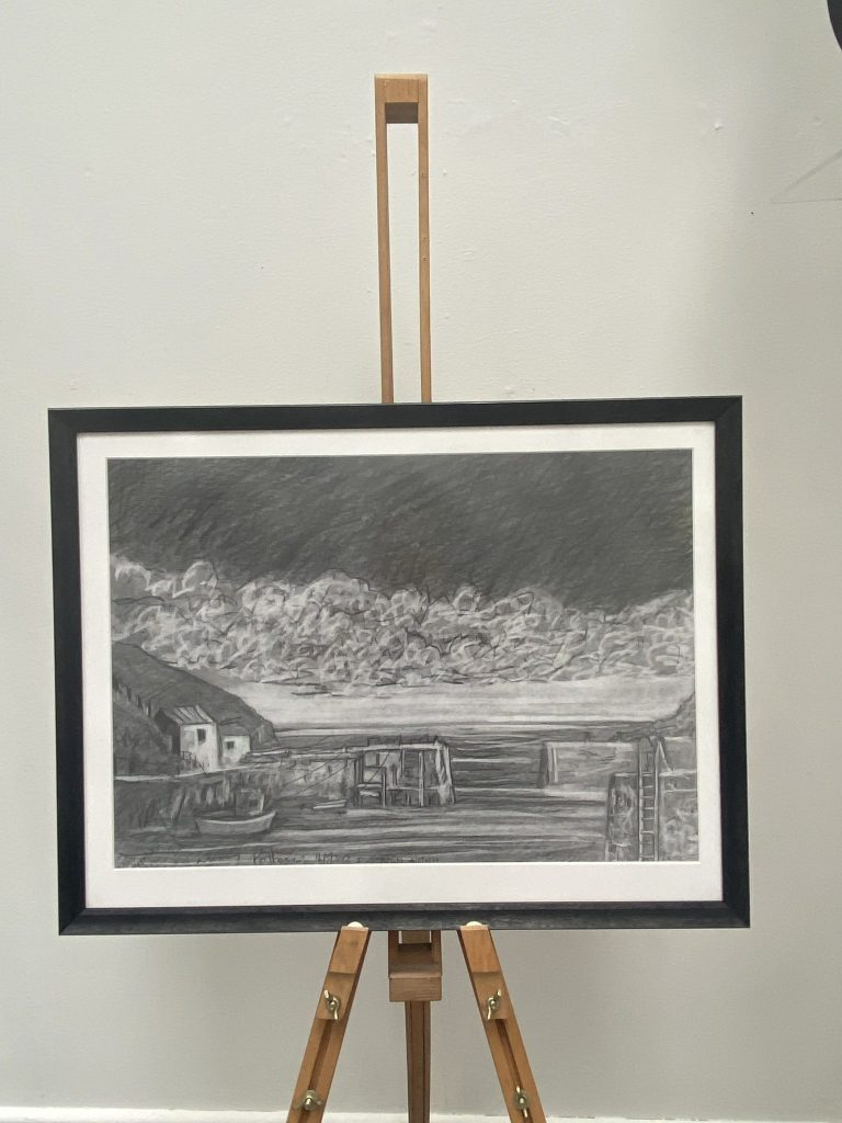 Pencil on Paper drawing by Dave Gunning