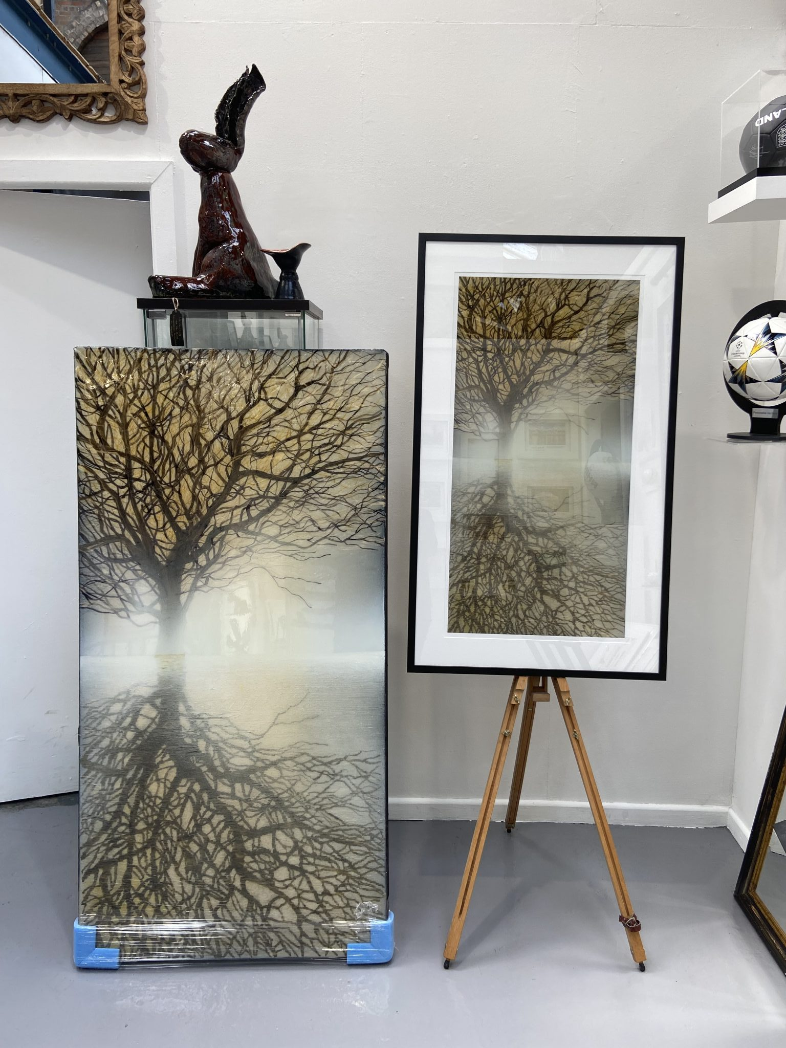 High Resolution Scanning and Giclee Printing at Ironbridge Fine Arts Gallery. Artwork by Robin Eckardt