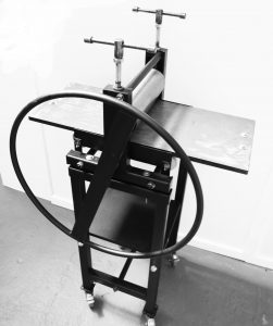 Little Thumper Bench Top Etching Printing Press Stand optional