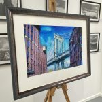 Example of Finished framing at Ironbridge Fine Arts
