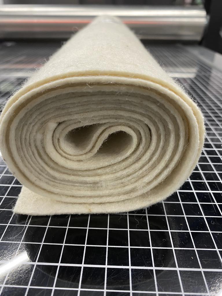 2mm 80%unwoven wool felt