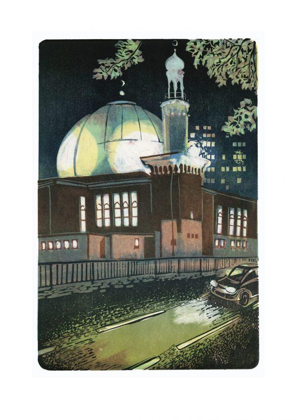 Birmingham Central Mosque by Mike Allison