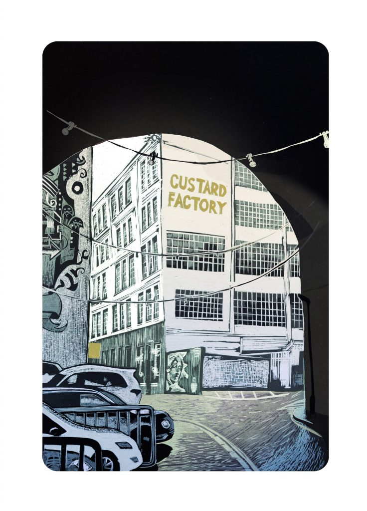 The Custard Factory by Mike Allison