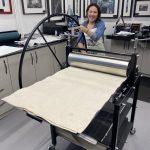 No 3 XL Gunning Etching Press