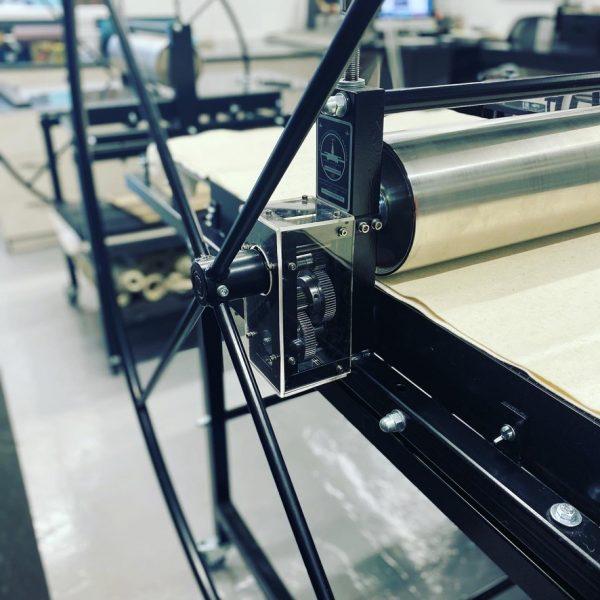 Geared Gunning Etching Press