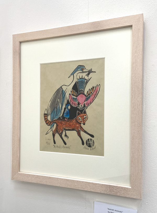 Astrids Animals by Helen Arthur